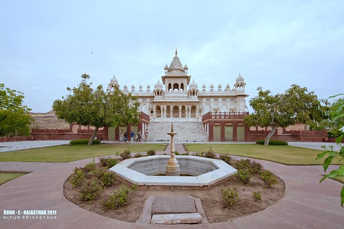 The Jaswant Thada, Jodhpur.