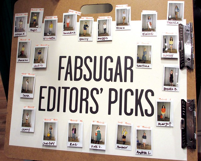 Participants in the Fabsugar Style Contest