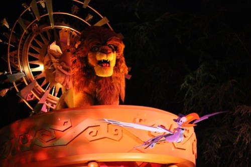 Simba and Zazu - Mickey's Soundsational Parade