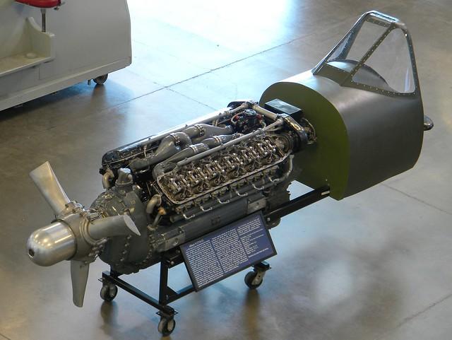 Allison V-1710-109 V 12 Cylinder Aircraft Engine 1