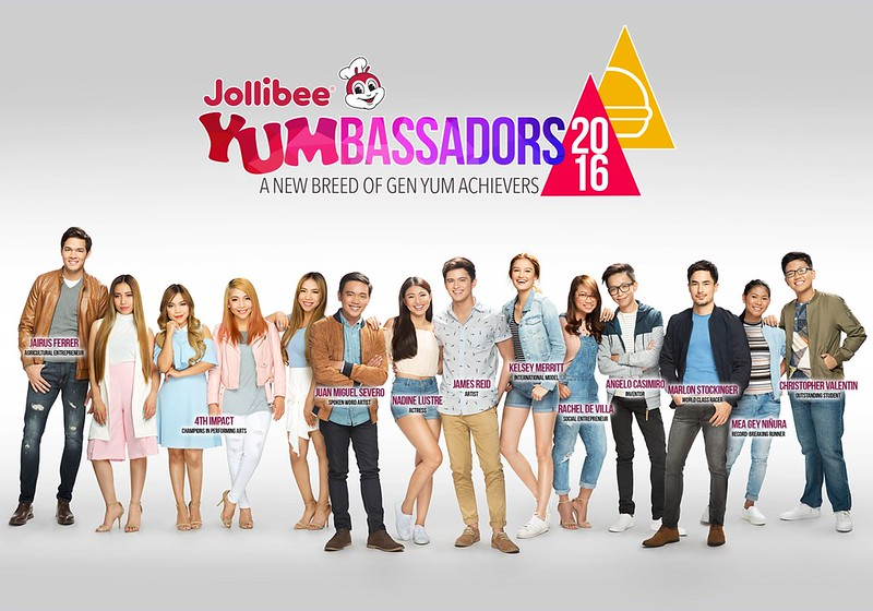 Jollibee 2016 Yumbassadors