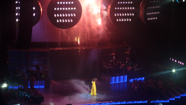 Rihanna at the O2, Dublin