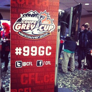 From flickr: At the #gctweetup, the @CFL got their #socialmedia marketing done correctly. #gc99