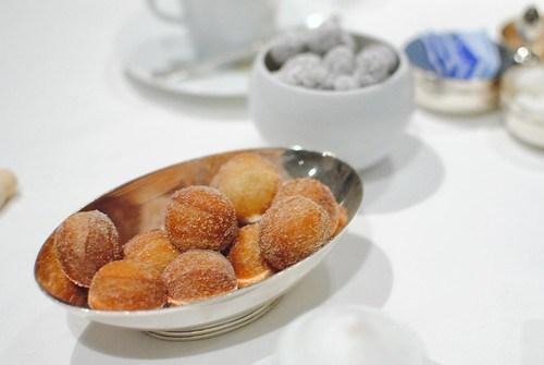 donut holes and macadamia