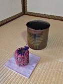 """今日のお菓子 No.92 – 主菓子 """"初霜""""と紅葉の干菓子"""