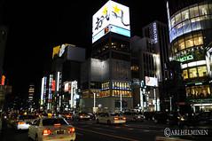 Akihabara and Ginza