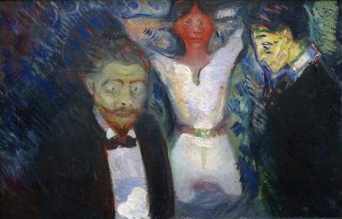 Edvard Munch, Eifersucht (Jealousy) by HEN-Magonza