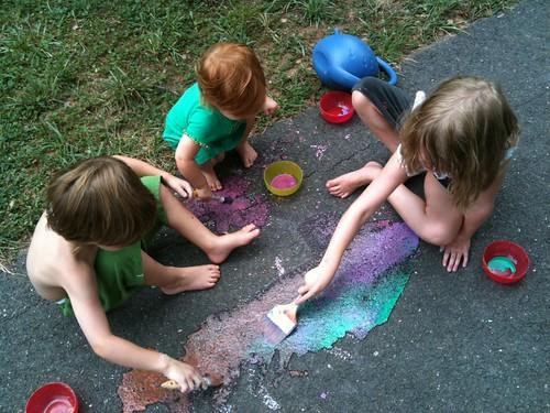 Cornstarch Paint