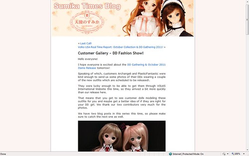 Gabrielle, and PlasticFantastic's Yuki on the VolksUSA Blog