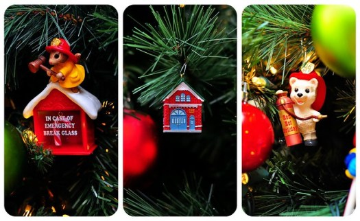 Three Ornaments Collage