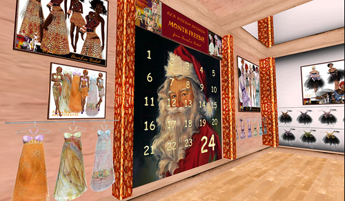 Advent Clendar at ALB Dream Fashion