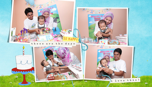 Qhalish Qaiser is ONE!