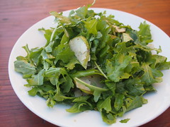Rocket and Pear Salad, Little Creatures, Fremantle