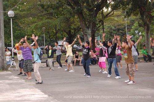 Lagoon Run for Unity Flash Mob