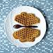 Waffle butterfly