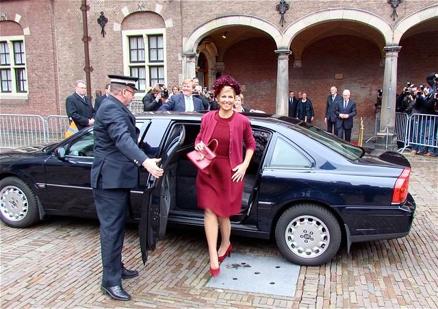Prinses Maxima bij afscheid Tjeenk Willink