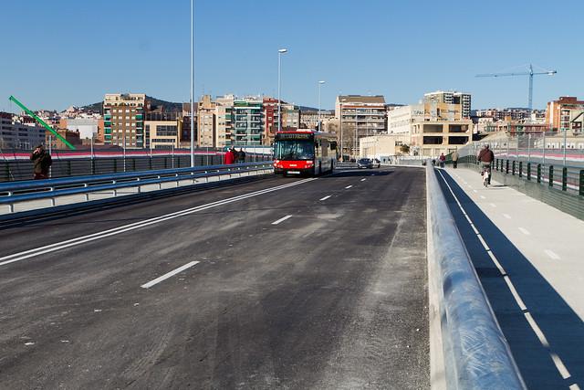 Nuevo puente - Dirección montaña - 30-01-12
