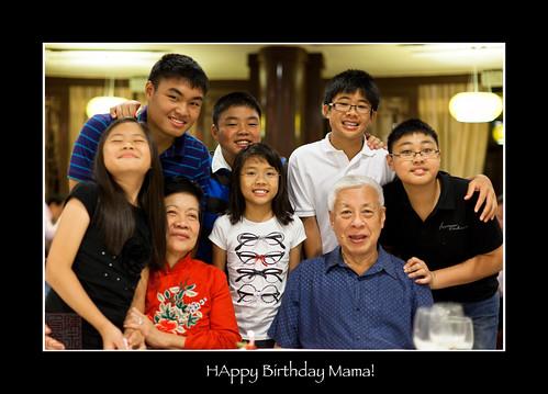Happy Family by Dad Bear (Adrian Tan)