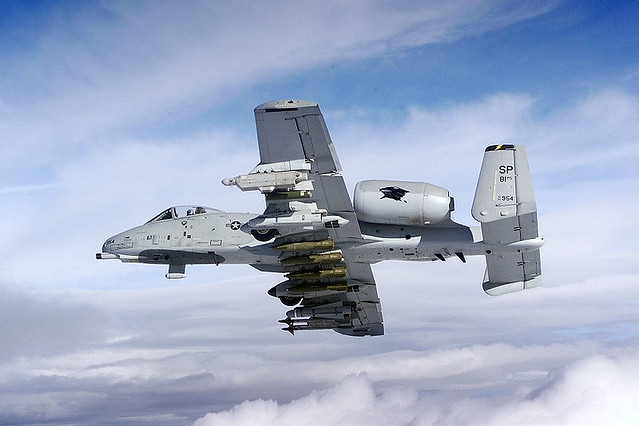 A-10. U.S. Air Force photo by Master Sgt. Blake R. Borsic.