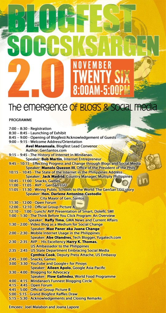 BlogFest 2.0 - Official Programme
