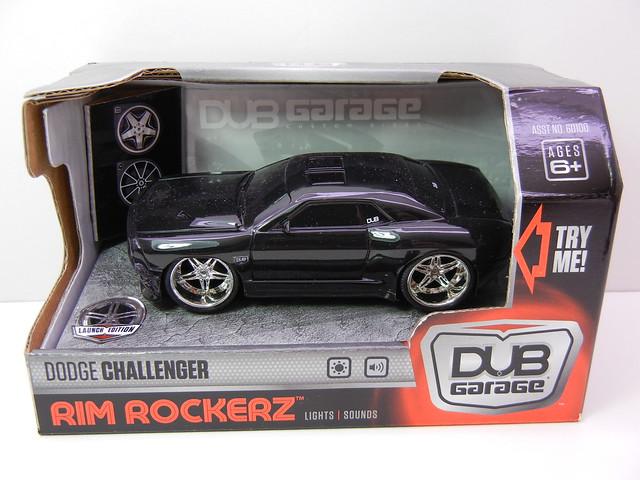 dub garage rim rockerz dodge challenger