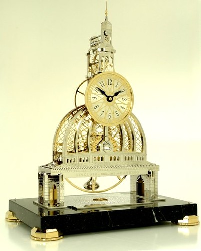 Grand Mosque Skeleton Clock
