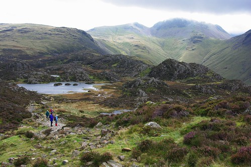 20110925-20_Innominate Tarn with Green Gable + Great Gable Behind by gary.hadden