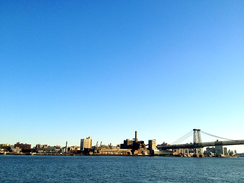 East River + the Domino Sugar Plant