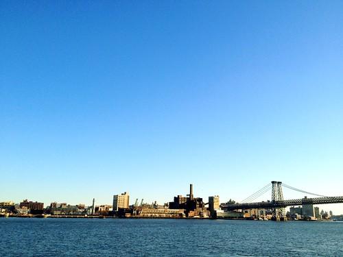 East River + the Domino Sugar Plant