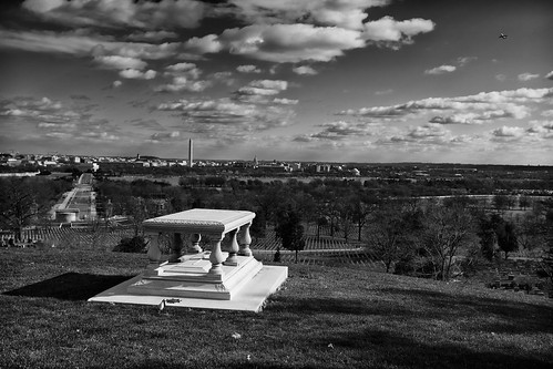 Major Pierre L'Enfant Overlooking D.C.