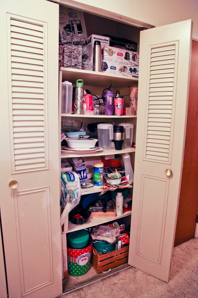 Pantry Redo - Before