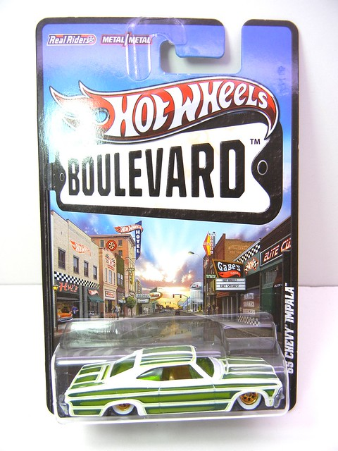 hot wheels boulevard '65 chevy impala (1)