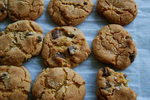 Cooling Chocolate Chip Cookies