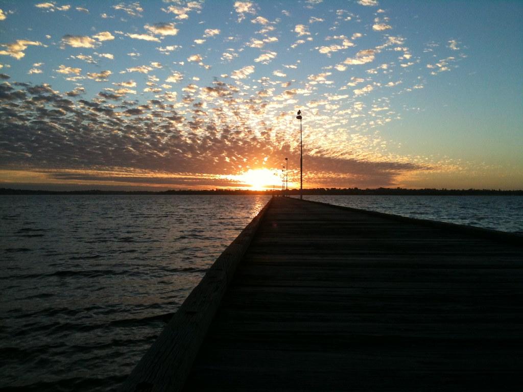 perth sunset.