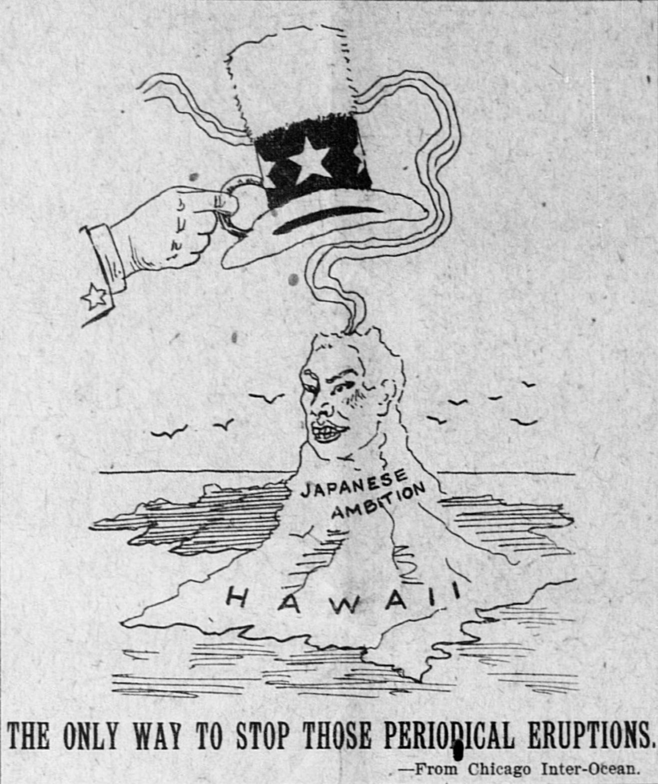 Historical Political Cartoons About Hawaii