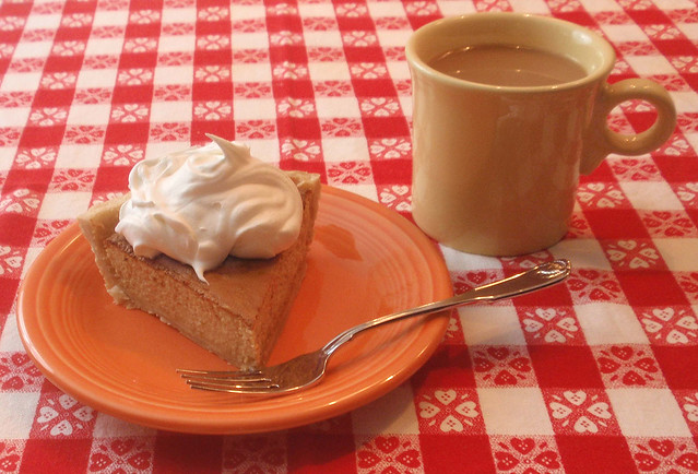 Persimmon Pie and Coffee