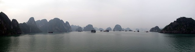 Halong Bay Panoramic