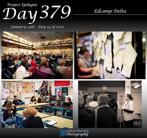 Day 379 - Edcamp Delta by SukhrajB