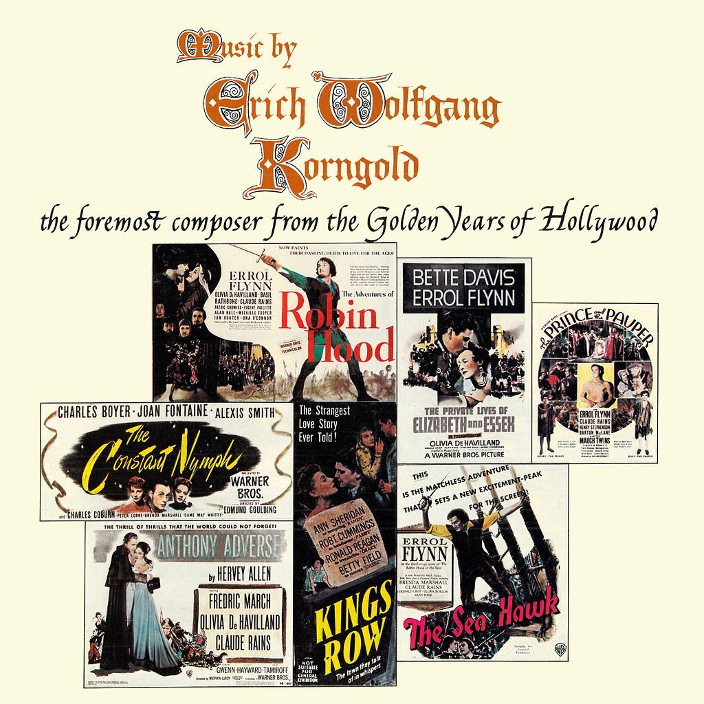 Music by Erich Wolfgang Korngold