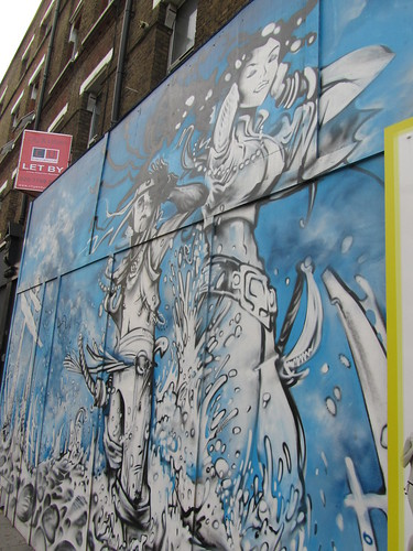 Street art near Old Street