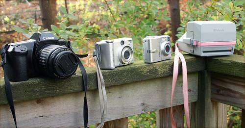 Camera quiver