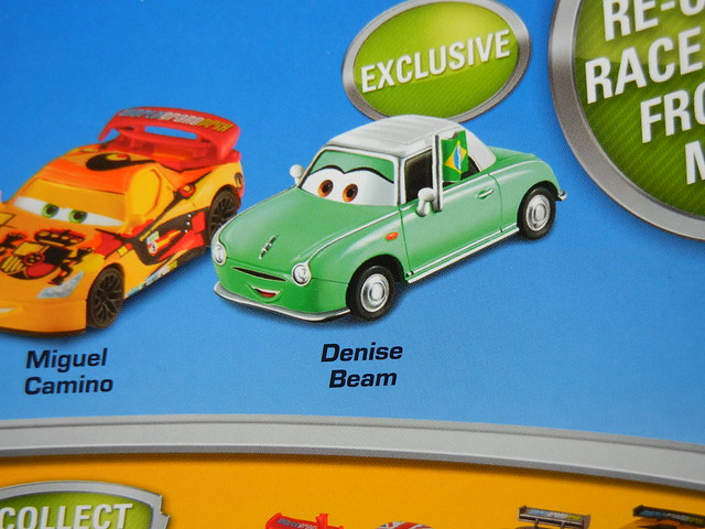 disney cars 2 target exclusive denise beam 4 pack (3)