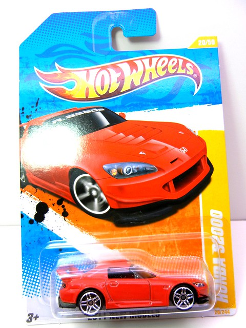 HOT WHEELS HONDA S2000 RED (1)