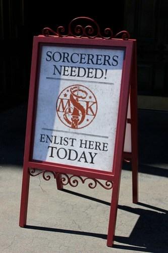 Sorcerers sign