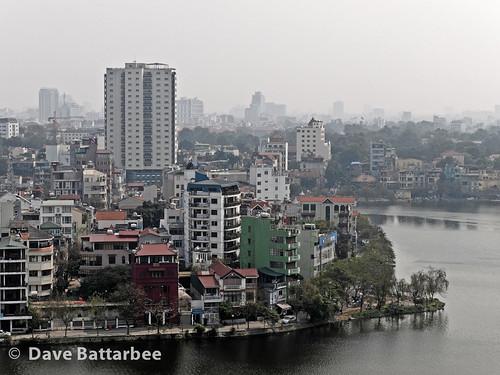 Hanoi from hotel room