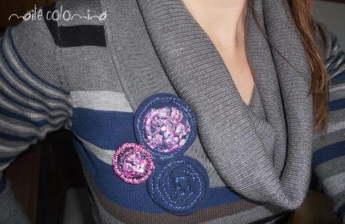 círculos bicolor by maite colomina