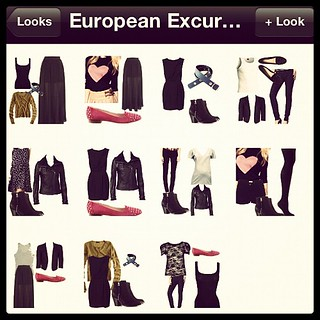 Planning outfits for Europe