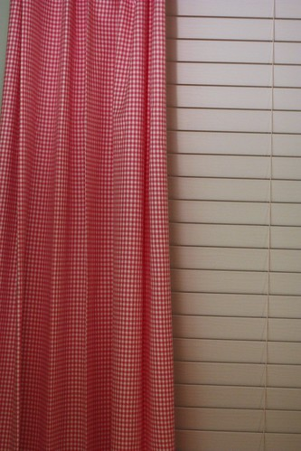 Hot Pink Gingham Curtains