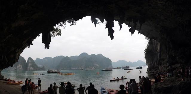Kayak Cave Trip
