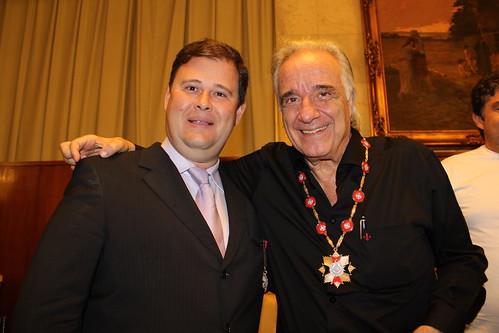 Dr. Jeferson Camillo e o maestro João Carlos Gandra da Silva Martins by Dr Jeferson Camillo